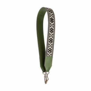Baa  Green Kilim Shoulder Strap