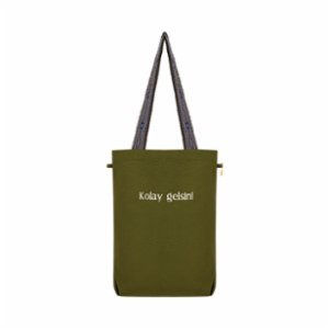 THIRD x hipicon  Kolay Gelsin Canvas Tote Bag