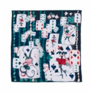 Un Poco  Playing Cards Silk Scarf