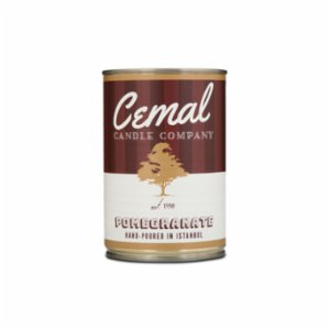 Cemal Candle Company  Pomegranate Candle
