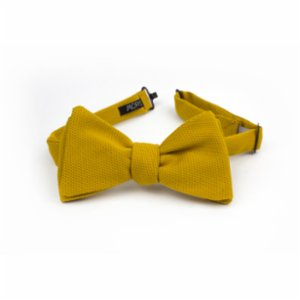 Moris  New Yellow Bow Tie