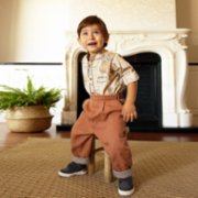 miniscule by ebrar  Bourbon Shirt and Pants Set