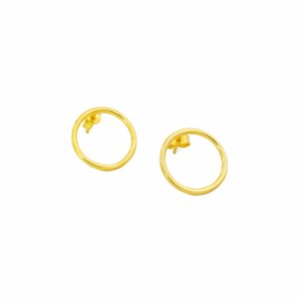 Wish-NU Design&Jewellery  Circle Earring