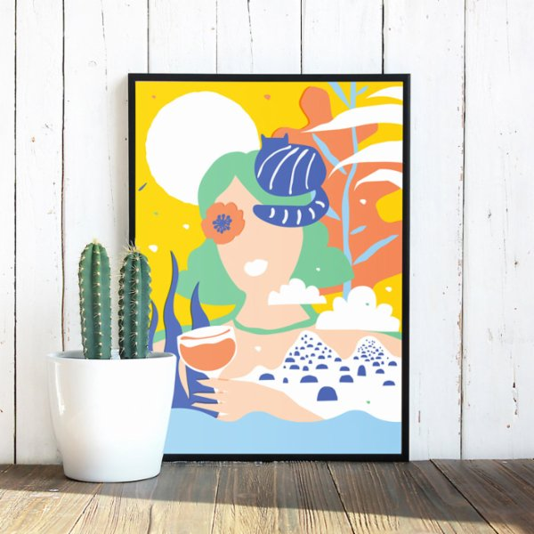 Every Other Day 5 p.m Art Print