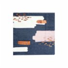 Harlow&Grey Erika - Navy Abstract Cocktail Paper Napkins 20Set