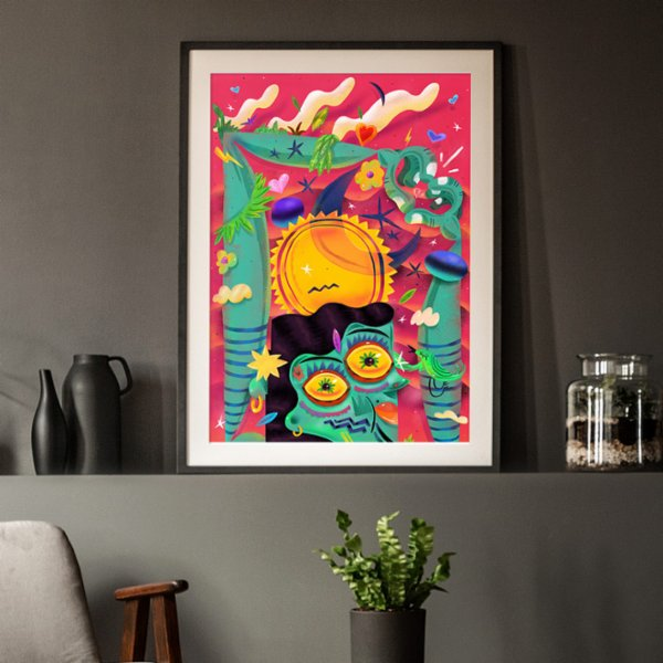 Every Other Day Day Art Print