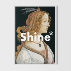 Every Other Day  Shine Art Print