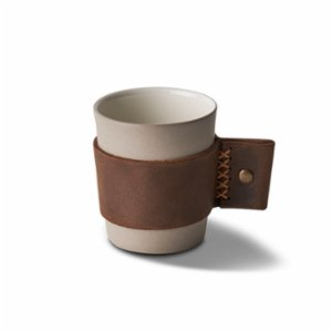 Esma Dereboy  Espresso Cup With Leather Handle