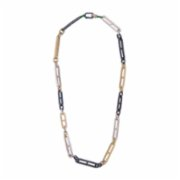 Juju  Multi Color Chain Unisex Necklace