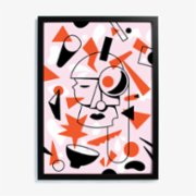 Studio These Days  Confusion Art Print