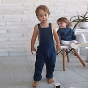 Tiny Little Love  Ocean Jumpsuit
