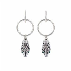 Aden Newyork  Python Earrings