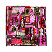 Lar Studio  The Artifacst Magenta Silk Scarf