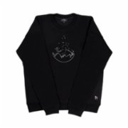 tumu tumu  Dreamer Embroidered Unisex Sweatshirt