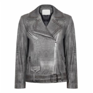 Haze of Monk  Studded Haze Oversize Jacket