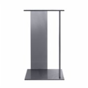 Studio 900 Design  Tempio Fume Glass Side Table