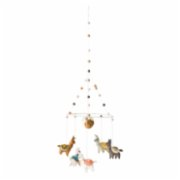 Warm Design	  Wool Felt Llama Mobile