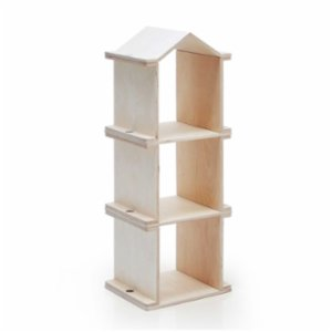 Lil'Gaea  Kule Natural Bookcase