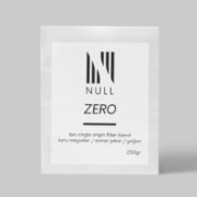 Null Coffee Roasters  Zero - Filtre Blend Coffee Bean - 250 G