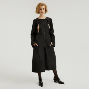 113 Studio  Cut Out Trenchcoat