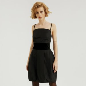 113 Studio  Taffeta Dress