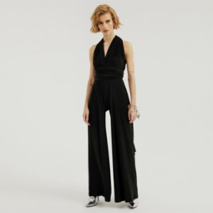 113 Studio  Long Tie Jumpsuit