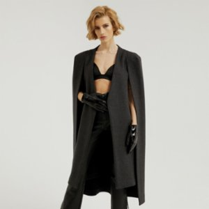 113 Studio  Longline Wool Cape