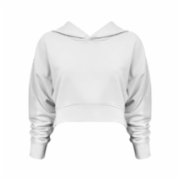 Rivus  Hooded Crop Sweatshirt