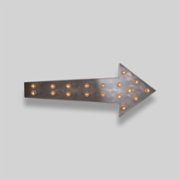 2 Stories  Arrow Wall Lamp