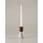Oolo Studio Marble Pineapple Candle Holder