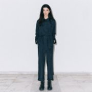 Random Chronology  Black Jumpsuit