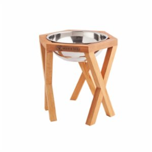 Wood&Tail  Alone Dog Bowl Stand