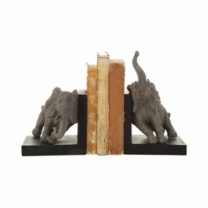 Warm Design	  Elephant Bookends - 2Set