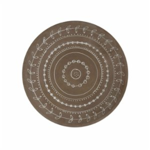 Warm Design	  Terra Cotta Wall Plate