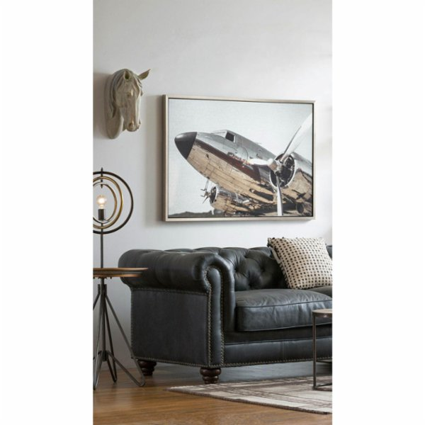 Warm Design	 Aluminum Board Plane Wall Art