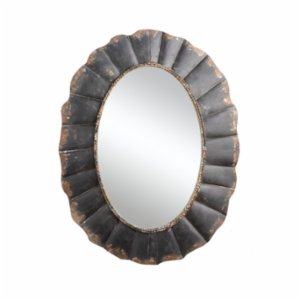 Warm Design	  Metal Framed Mirror