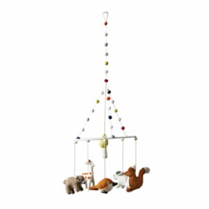 Warm Design	  Woodland Animal Mobile