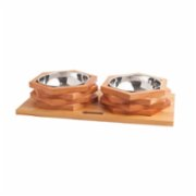 Wood&Tail  Hexxup Dog Bowl Stand
