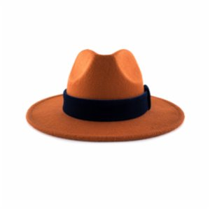 Michrame  Panama Orange Unisex Hat