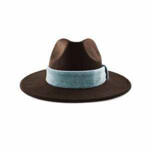 Michrame  Panama Ice Brown Unisex Hat