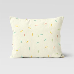 Happy Folks  Confetti Rain Pillowcase