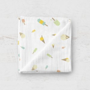 Happy Folks  Ice Cream Land Organic Swaddle