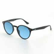 Looklight  Letoon Matte Black Unisex Sunglasses