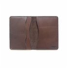 Sakin Leather	 Brown Passport Holder