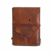 Sakin Leather	  Asymmetrical Backpack