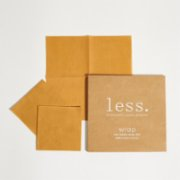Less.  Beeswax Wrap Small Set of 3