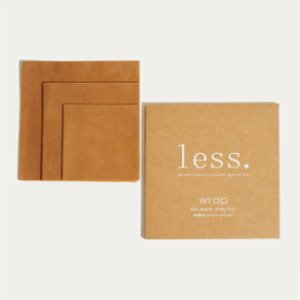 Less.  Beeswax Wrap Set of 3