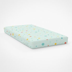 Happy Folks  Dots in Space  Single Fitted Sheet