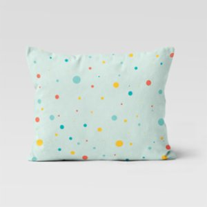 Happy Folks  Dots in Space Pillowcase