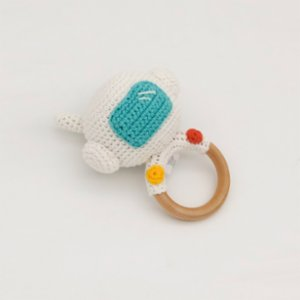 Happy Folks  Astronaut Teething Toy